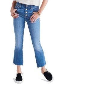 Madewell Cali denim-boot Jeans nwot